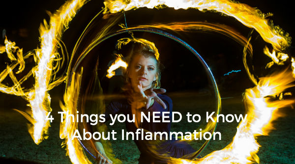 4 Things you NEED to Know About Inflammation