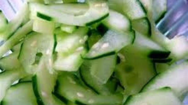 Cucumber Salad, Sweet Japanese Style