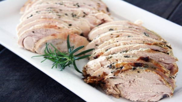 Herb Roasted Turkey Breast, Intermittent Fasting Diet