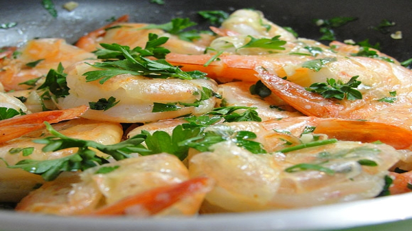 Shrimp Sauté: Quick simple a perfect meal for these crazy days