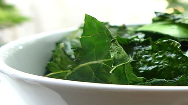 Fresh Kale Chips, One of My Favourite Intermittent Fasting Snacks
