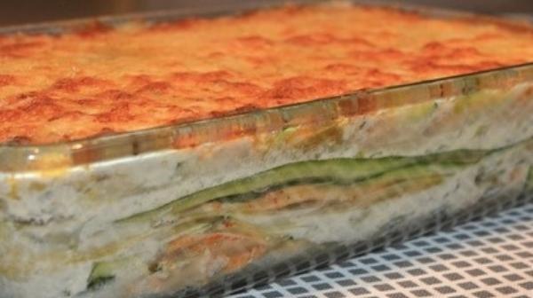 "Homemade Zucchini Lasagna, Part of MY ""I.F."" Program"